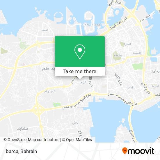 barca map
