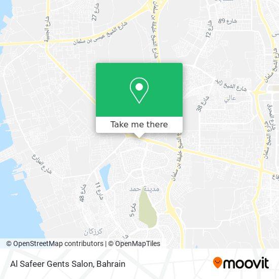 Al Safeer Gents Salon map