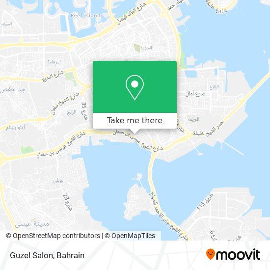 Guzel Salon map