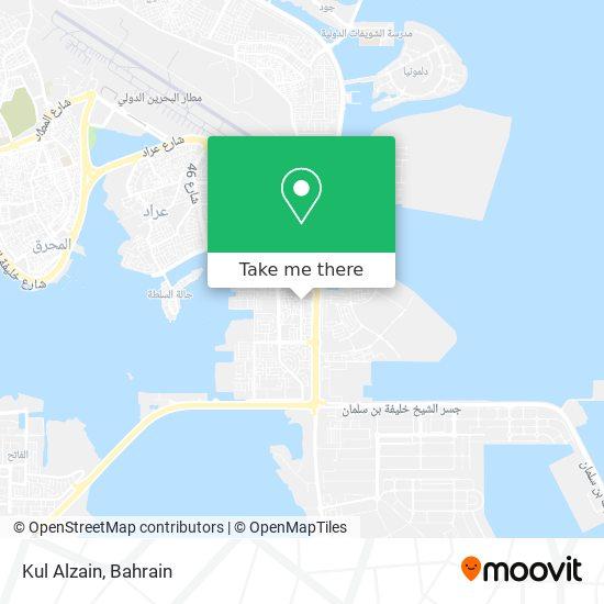 Kul Alzain map