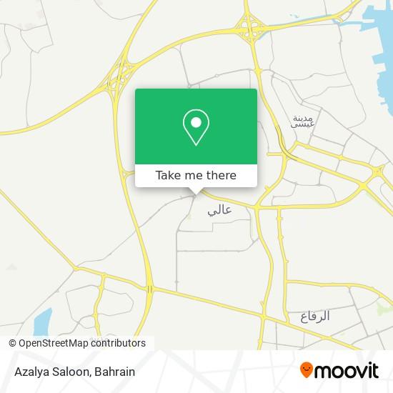 Azalya Saloon map