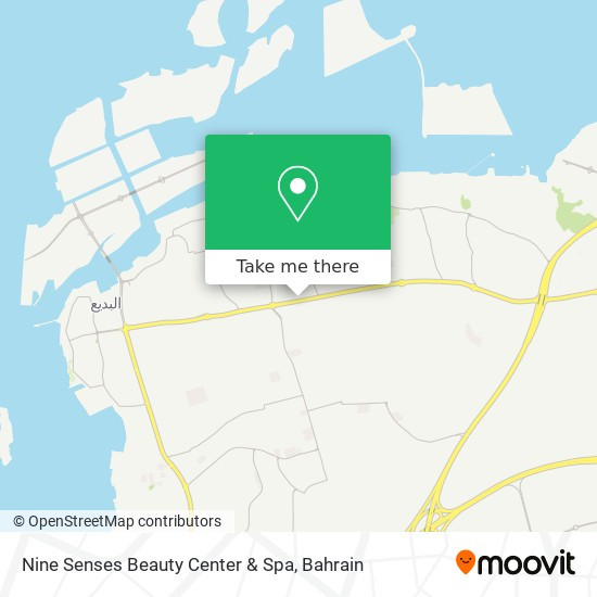 Nine Senses Beauty Center & Spa map