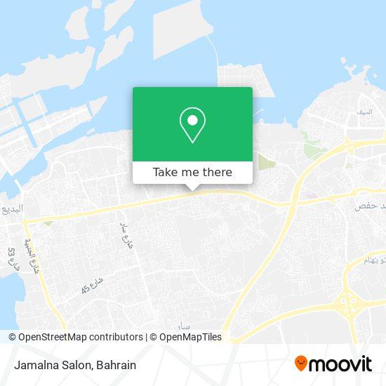 Jamalna Salon map