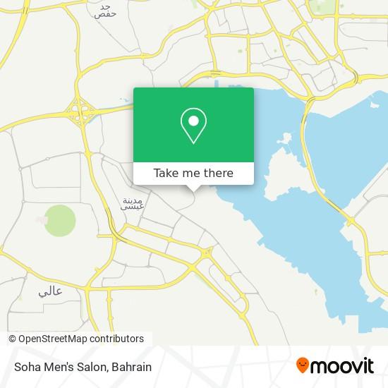 Soha Men's Salon map