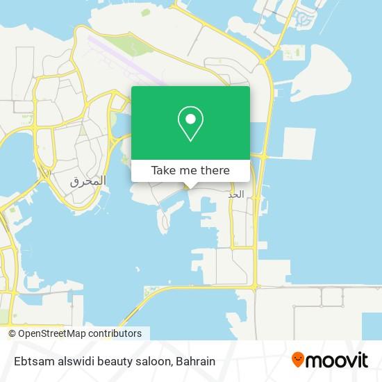 Ebtsam alswidi beauty saloon map