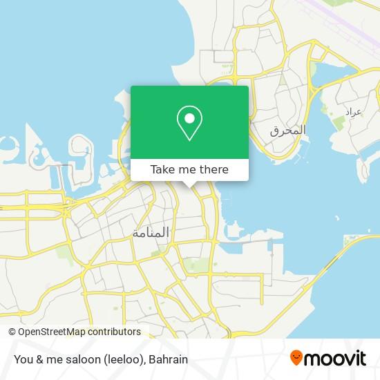 You & me saloon (leeloo) map