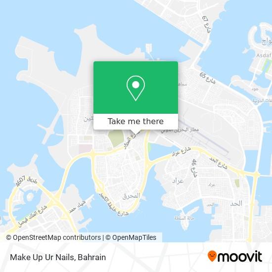 Make Up Ur Nails map