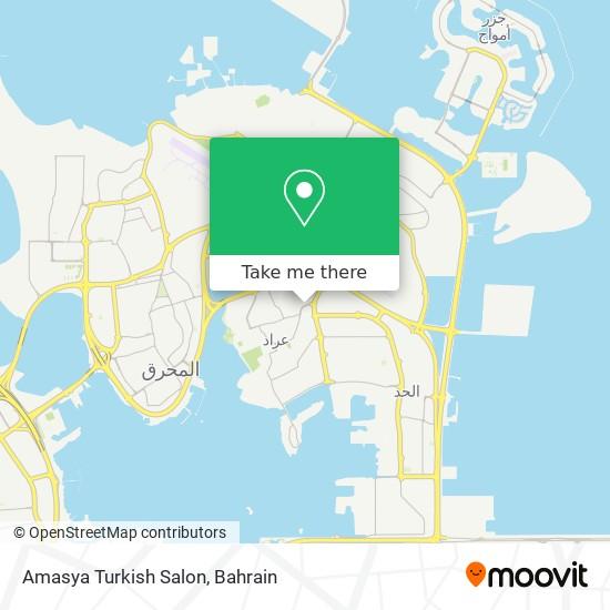 Amasya Turkish Salon map