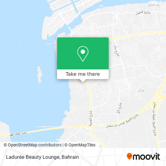 Ladurée Beauty Lounge map