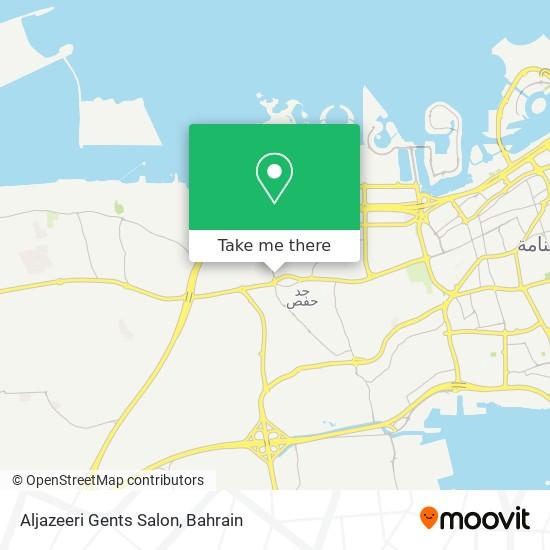 Aljazeeri Gents Salon map