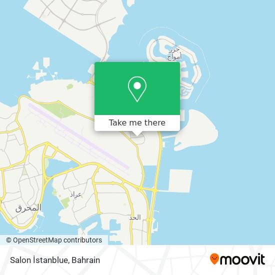 Salon İstanblue map