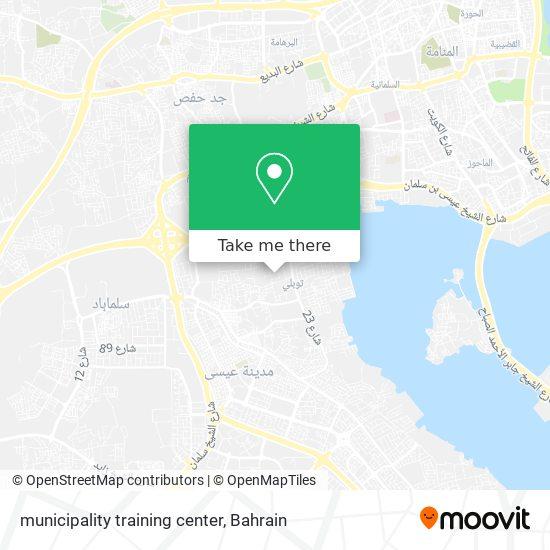 municipality training center map