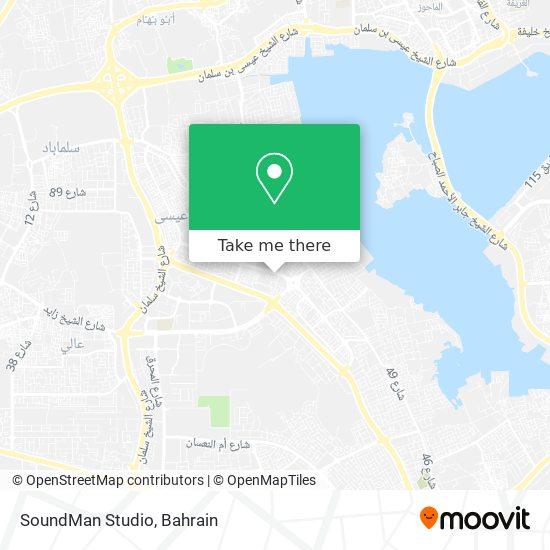 SoundMan Studio map