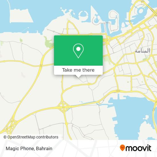 Magic Phone map