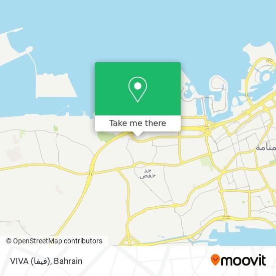 VIVA (فيفا) map