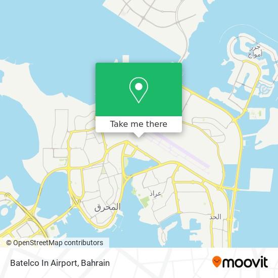 Batelco In Airport map