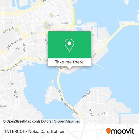 INTERCOL - Nokia Care map