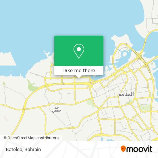 Batelco map