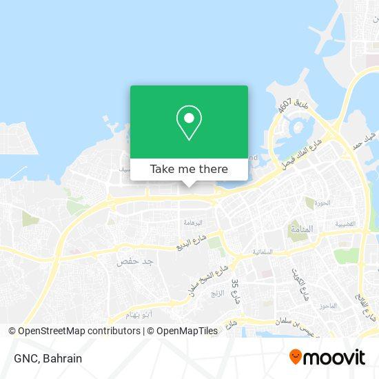 GNC map