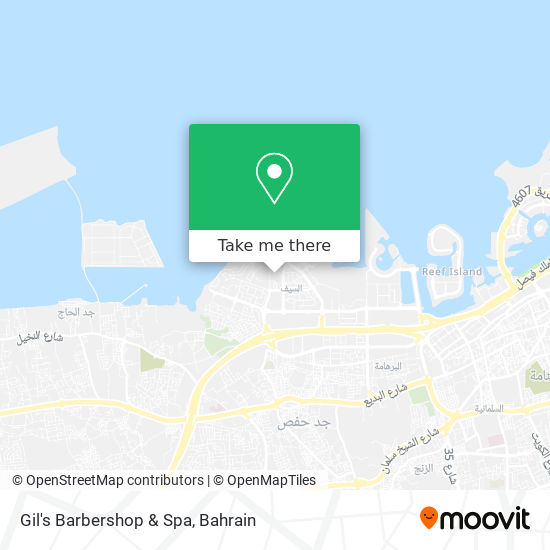 Gil's Barbershop & Spa map