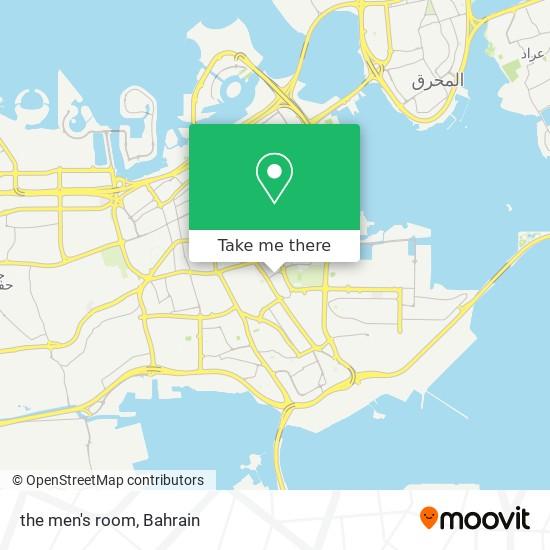 the men's room map