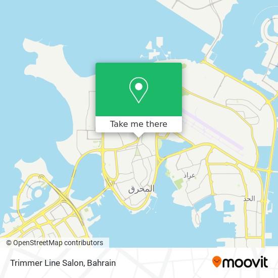 Trimmer Line Salon map