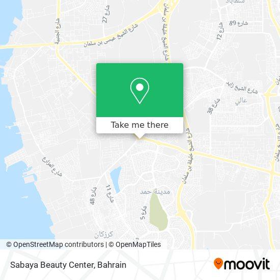 Sabaya Beauty Center map