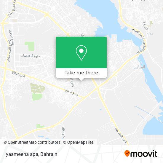 yasmeena spa map