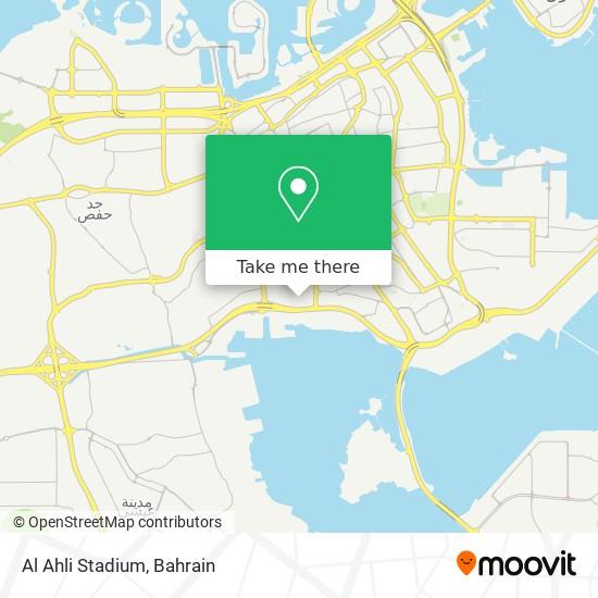 Al Ahli Stadium map