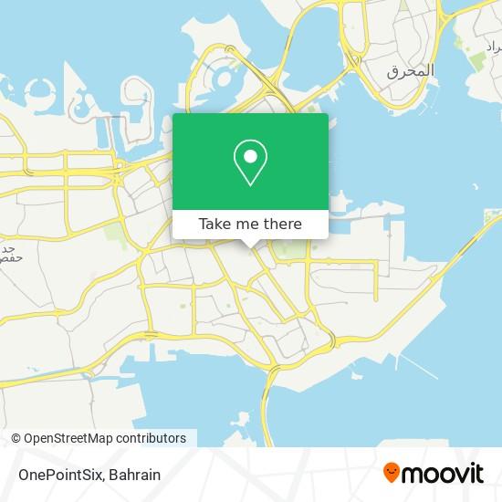 OnePointSix map