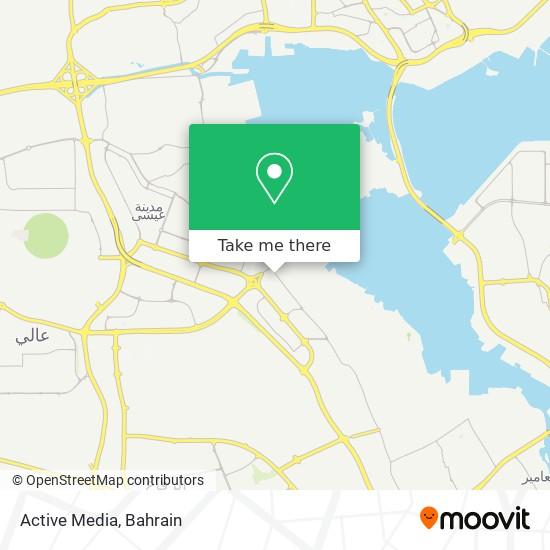 Active Media map