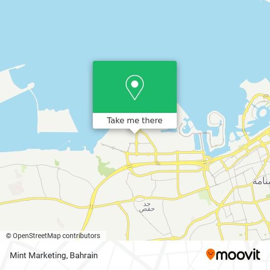 Mint Marketing map
