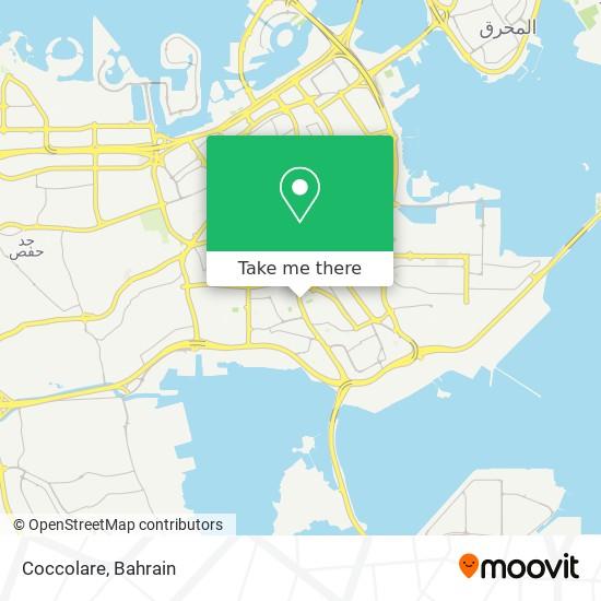 Coccolare map