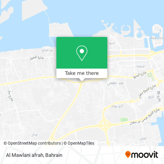 Al Mawlani afrah map