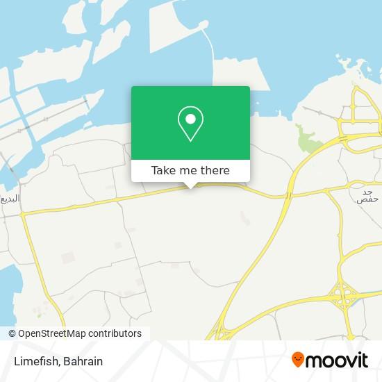 Limefish map