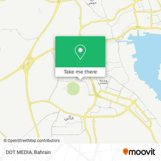 DOT MEDIA map