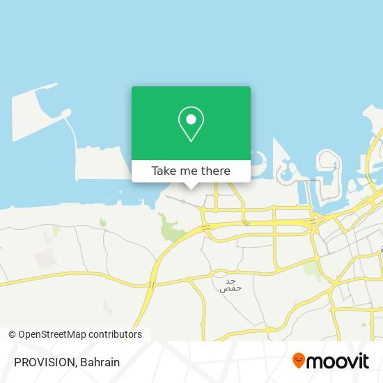 PROVISION map