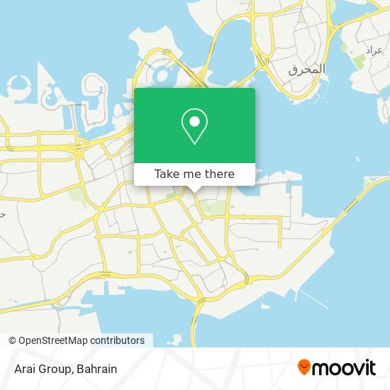 Arai Group map