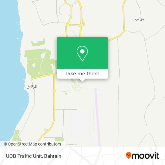 UOB Traffic Unit map