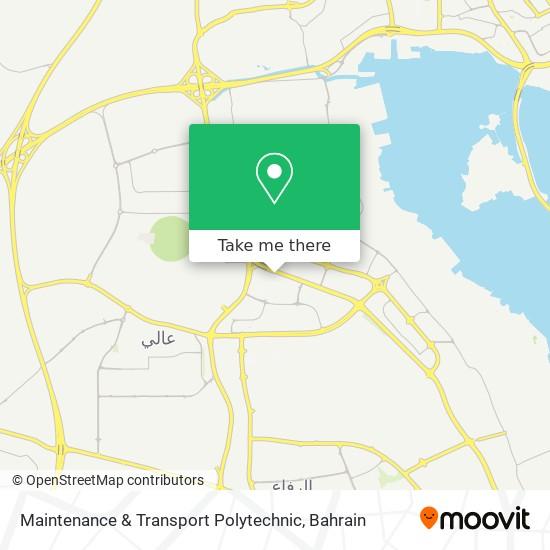 Maintenance & Transport Polytechnic map