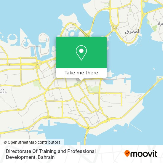Directorate Of Training and Professional Development map