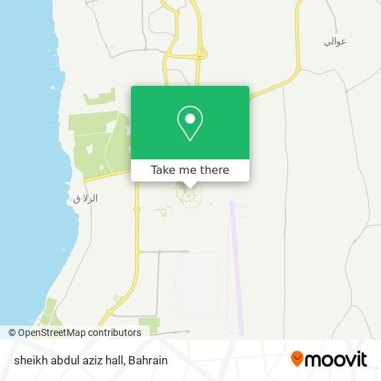 sheikh abdul aziz hall map
