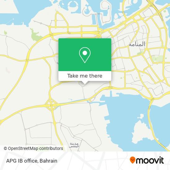 APG IB office map