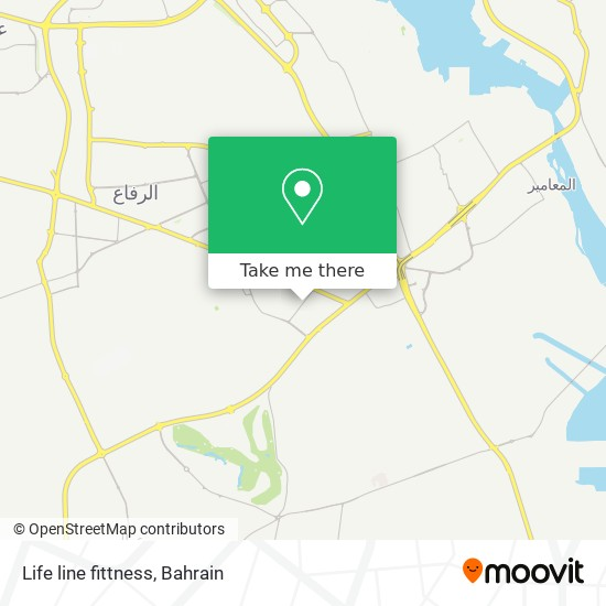 Life line fittness map