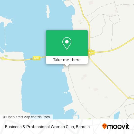 Business & Professional Women Club map