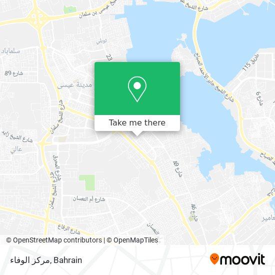 مركز الوفاء map