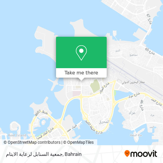 جمعية السنابل لرعاية الايتام map