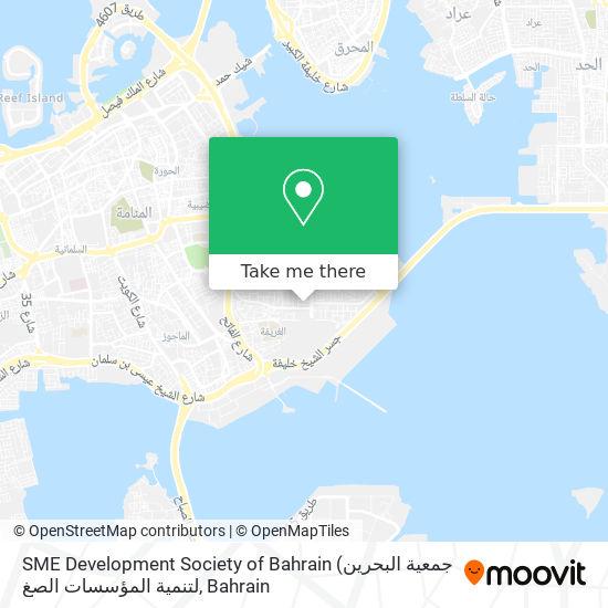 SME Development Society of Bahrain map