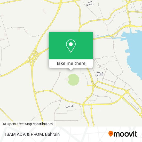 ISAM ADV. & PROM map