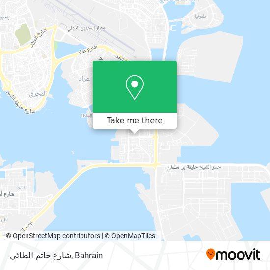 شارع حاتم الطائي map